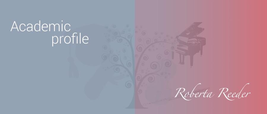 Roberta Reeder academic profile